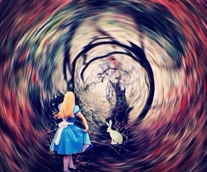 alice, wonderland, and alice in wonderland image