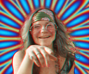 3d, hippie, and psychedelic image
