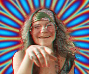 3d, hippie, and janis joplin image