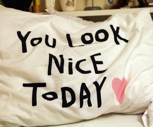 nice, pillow, and heart image