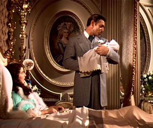 clark gable, Gone with the Wind, and movie image