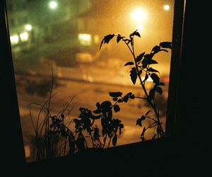 Darkness, evening, and lamps image