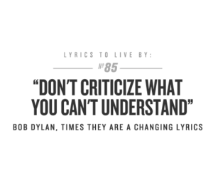 Lyrics, bob dylan, and quote image