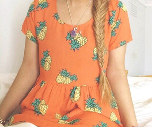 blonde, fashion, and braid image