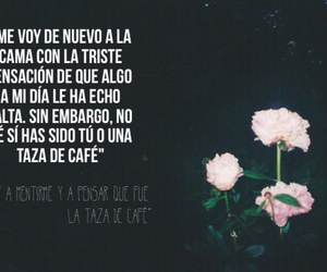 amor, cafe, and flores image