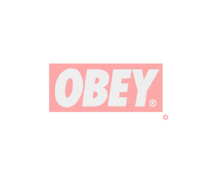 obey, overlay, and transparent image