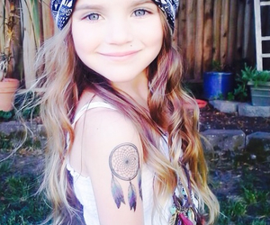 girl, hippie, and kids image