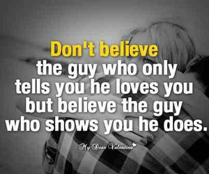 quote, love, and believe image