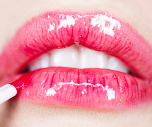 lips, pink, and pretty image