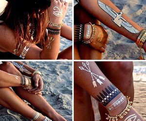bling, indie, and beach fashion image