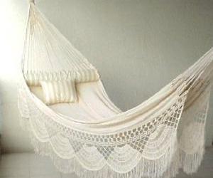 hammock, pretty, and white image