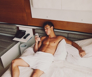 bed, Hot, and cameron image