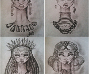 accesories, africa, and black image