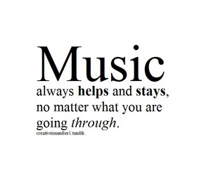 music, help, and stay image