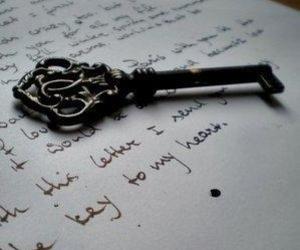 cartas, writing, and fairytale image