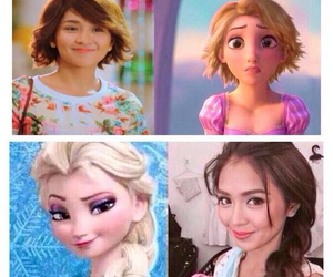 frozen, rapunzel, and tangled image