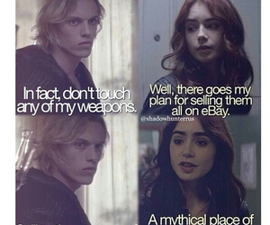 the mortal instruments, funny, and jace image
