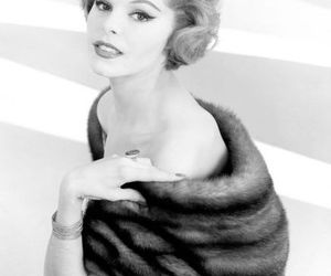 50s, woman, and black and white image