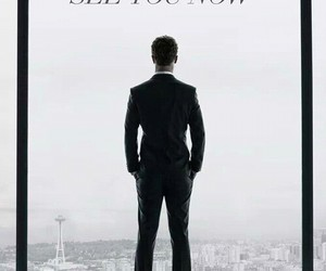 christian grey, fifty shades of grey, and movie image