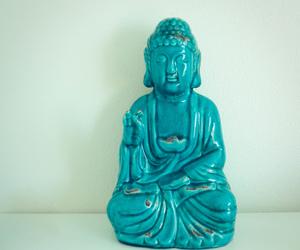 aqua, balance, and blue image