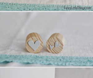 diy, heart, and stamp image