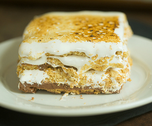 cake, s'mores, and dessert image