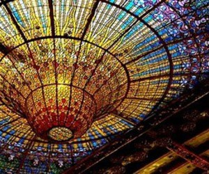 Barcelona and ceiling image