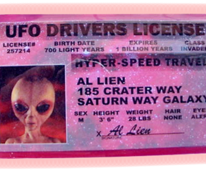 alien, grunge, and pink image