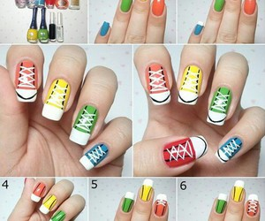 nails and converse image