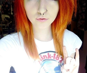 alternative, girl, and nose ring image