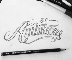 inspiration, lettering, and quote image