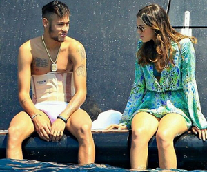 neymar, bruna marquezine, and neymar jr image