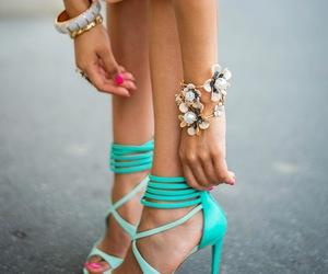 bracelets, shoes, and fashion image