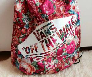 vans, bag, and fashion image