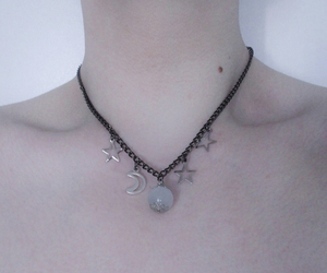 neck, pastel, and necklace image