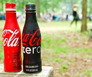 coke, coca cola, and drink image
