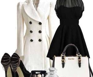 dress, fashion, and heels image