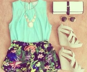 fashion, summer, and wedge image