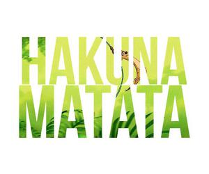 hakuna matata, disney, and lion king image