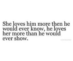 love, him, and sad image