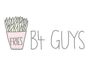 fries, guys, and food image