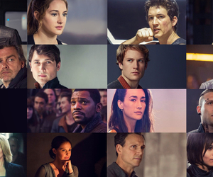 divergent, four, and Shailene Woodley image