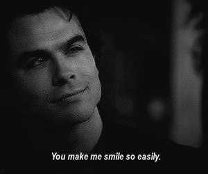 smile, tvd, and ian somerhalder image