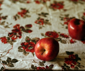 apple, red, and vintage image