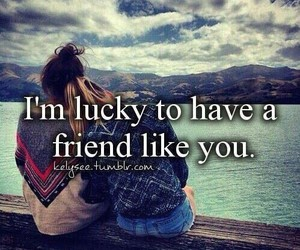 friends, lucky, and best friends image
