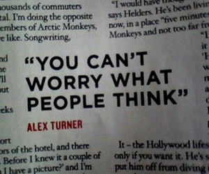 alex turner, arctic monkeys, and quote image
