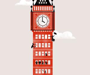 Big Ben, dessin, and drawing image