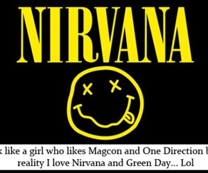 girl, green day, and nirvana image