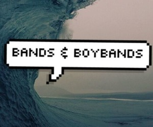 bands, sea, and boybands image