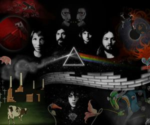 Pink Floyd, psychedelic, and syd barrett image